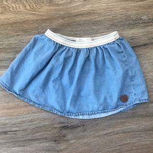 ZARA BABY GIRL Denim Skirt